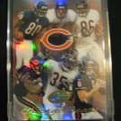 2004 etopps Chicago Bears Team card refractor Brian Urlacher  Marty Booker Rex Grossman