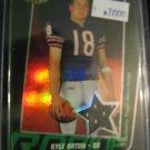 2005 Kyle Orton Bowmans Best Jersey refractor rookie card Denver Broncos