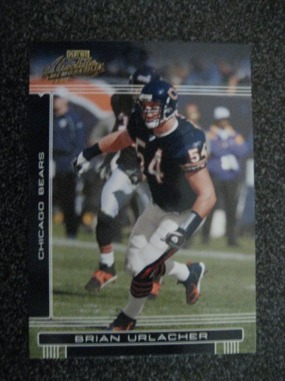 Brian Urlacher 06 Playoff Absolute Chicago Bears Linebacker