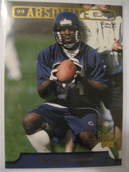 Marty Booker 99 Playoff Absolute Rookie card Chicago Bears Wide Receiver