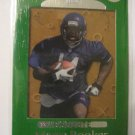 Marty Booker 99 Playoff Absolute SSD Green Rookie card Chicago Bears