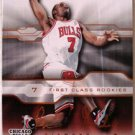 Ben Gordon 04 Upper Deck Prosigs First Class rookies rookie card Chicago Bulls