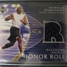 Marcus Robinson 03 Upper Deck Honor Roll Dean's list Jersey card Chicago Bears