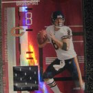 Rex Grossman 05 Leaf Mirror RED jersey card serial numbered 003/100 Chicago Bears