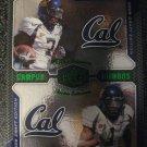 Lavelle Hawkins DeSean Jackson 08 Upper Deck Campus Combos rookie card