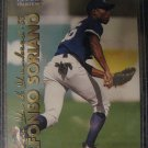 Alfonso Soriano 99 Fleer rookie card Chicago Cubs
