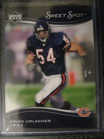 Brian Urlacher 05 Upper Deck Sweet Spot base card Chicago Bears