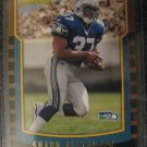 Shaun Alexander 00 Bowman Rookie card Seahawks Very sharp