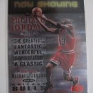 Michael Jordan 99 Upper Deck Now Showing insert card Chicago Bulls
