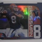 Rex Grossman 03 Press Pass Big Numbers rookie insert card Chicago Bears