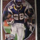 08 Adrian Peterson Upper Deck Football Heroes Vikings