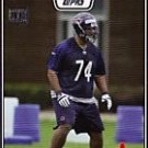 Chris Williams 08 Topps rookie card Chicago Bears 08 1st rnd Pick