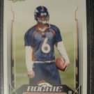 Jay Cutler 2006 Score rookie card Chicago Bears
