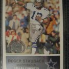 Roger Staubach  Fleer 2000 retrospection collection rookie re-print Dallas Cowboys