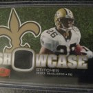 Duece McAllister 06 Flair Showcase stitches jersey card Saints BV$8