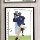 Reed Johnson 2002 Fleer Premium Gem Mint 10 rookie card Chicago Cubs