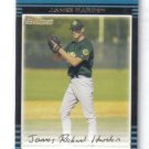 Rich Harden 2002 Bowman rookie card Chicago Cubs
