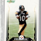Santonio Holmes 06 Score rookie card Pittsburgh Steelers Super Bowl MVP