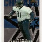 Tommie Harris 04 Topps Finest rookie card Chicago Bears