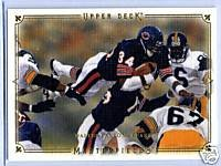 Walter Payton 08 Upper Deck Masterspieces card Chicago Bears This card is vintage Payton !