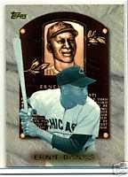 Ernie Banks 1998 Topps Hall Of Fame Collection Chicago Cubs
