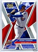Kosuke Fukudome 08 Upper Deck X rookie card Chicago Cubs