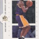 Kobe Bryant 99 Upper Deck Sp Authentic First Class insert card Lakers