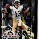 Kurt Warner 00 Bowman Chrome Shattering Performers insert card Cardinals