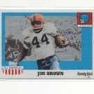 Jim Brown 05 Topps All American Syracuse / Browns