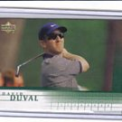 David Duval 01 Upper Deck rookie card