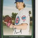 JEFF SAMARDZIJA  08 BOWMAN DRAFT (4) ROOKIE CARD LOT CHICAGO CUBS