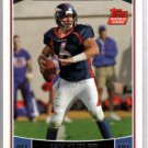 Jay Cutler 06 Topps rookie card Chicago Bears #365