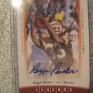 Reggie Rucker 06 UD Legendary Signatures autographed card Browns