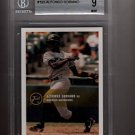 2000 Just Alfonso Soriano BGS Gem-mint 9 rookie card Chicago Cubs