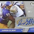09 Sage Hit Jarron Gilbert AUTO rookie card Chicago Bears