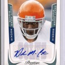 2011 Playoff Prestige Delone Carter Auto rookie card  370/599 Colts