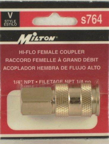 V-STYLE HI-FLOW SERIES 1/4 BASIC SIZE S764 MILTON 764