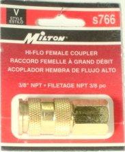 V-STYLE HI-FLOW SERIES 1/4 BASIC SIZE 766 MILTON S766