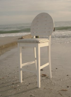 Coastal Beach Barstool