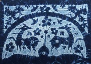 Batik for the wall hanging 01