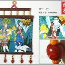 chinese batik art  mural painting - foison leasurable