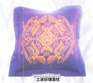 Embroider art  backrest pillow01