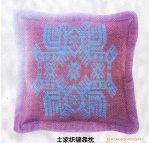 Embroider art backrest pillow02