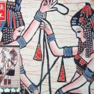 chinese batik art mural painting, wall hanging-dancing girls