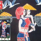 chinese batik art mural painting, wall hanging-perfect foison