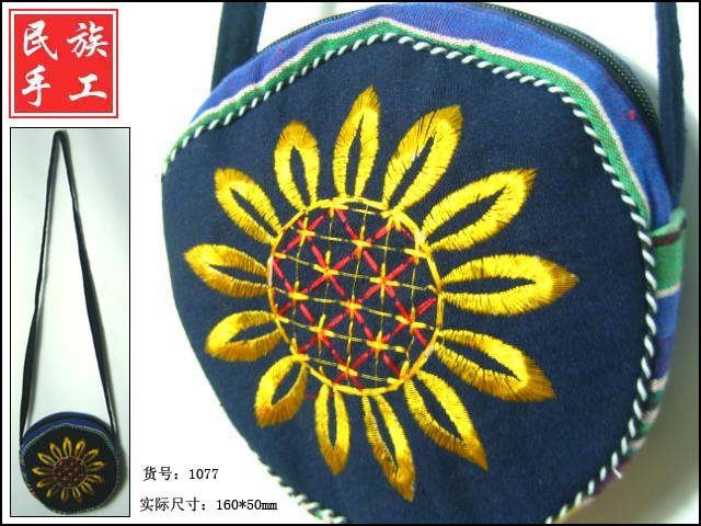 pure handicraft art ,brede handbag005