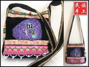 pure handicraft art ,brede handbag014