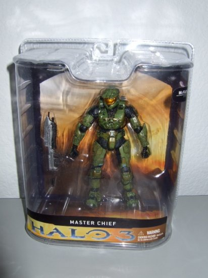 McFarlane Halo 3 Series 1 - Master Chief Action Figure XBOX 360