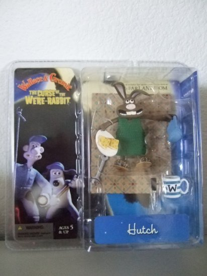 McFarlane Wallace & Gromit Curse Of The Were-Rabbit - Hutch Action Figure
