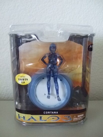 McFarlane Halo 3 Series 1 - Cortana Action Figure XBOX 360